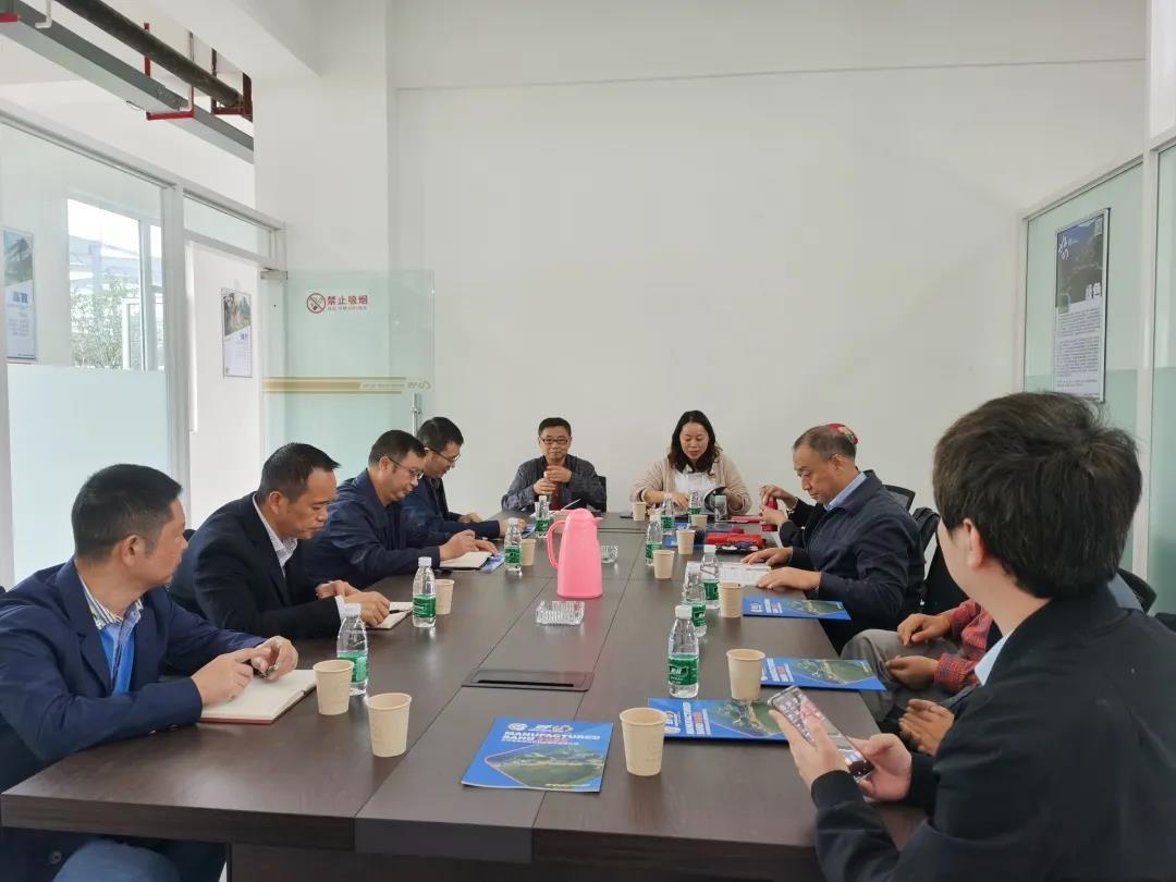 促进会受邀前往绵阳市北川县考察调研当地产业发展